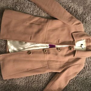 Jcrew camel colored coat